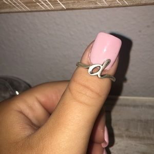 "James Avery ""d"" ring"